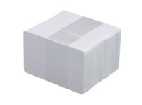 Vita plastkort 0,5 mm