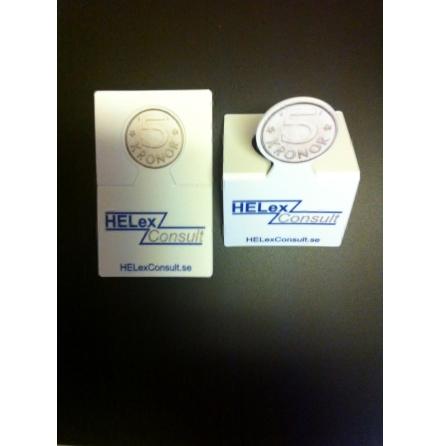 Myntkort för kundvagn