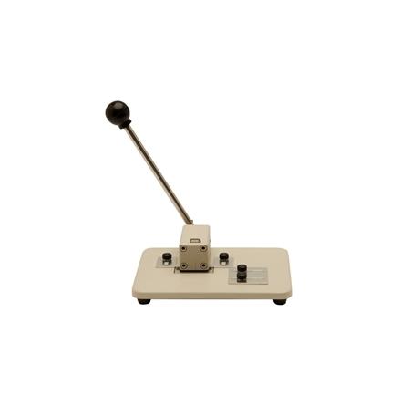 Hålslag, ovalt hål bordsmodell