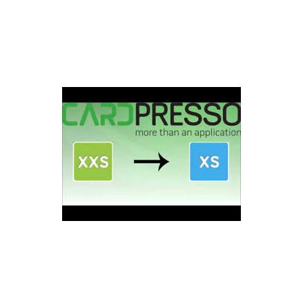 Cardpresso uppgradering XXS-XS