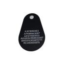 RFID-tagg, pear EM (epoxy/bakelit) märkt med systemnummer