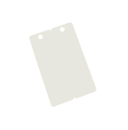 Plastkort stansad/hålad
