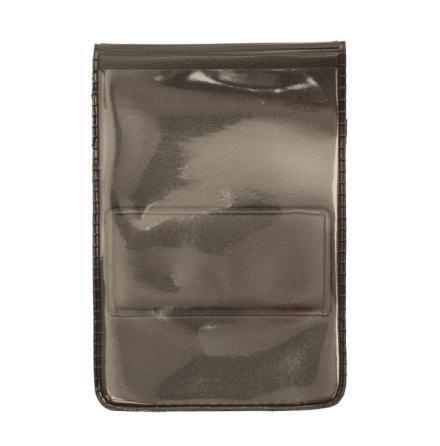Plastficka vertikal, 61x86 mm med magnet