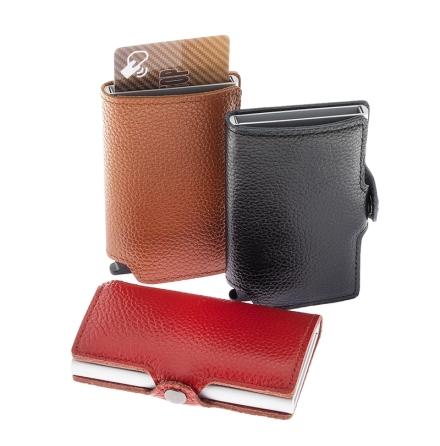 RFID Plånbok i skinn