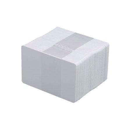 Papperskort vit kartong 0,6mm