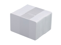 Vita plastkort, 500-pack