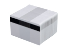 Vita plastkort HiCo, 100-pack